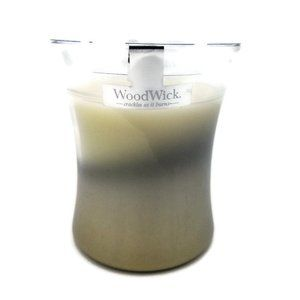 Woodwick Smoked Jasmine Medium Hourglass Candle